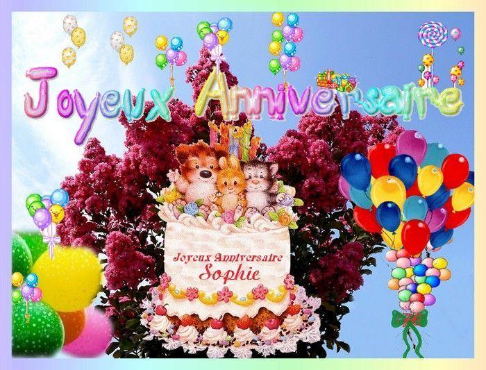 Joyeux Anniversaire Sophie